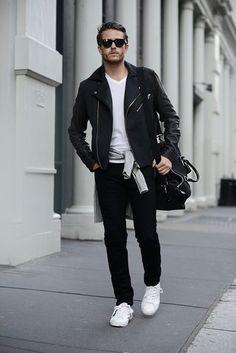 Men's Style #leatherjacket