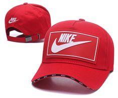 78a5e702da09c Men s   Women s Nike True Logo Rubber Patch Stitched Curved Dad Cap - Red    White