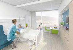 HARALDSPLASS HOSPITAL - NEW WARD BUILDING C.F. Møller