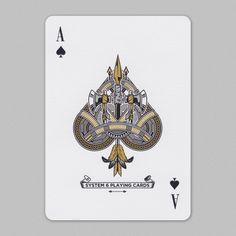 Ace of spades Ace Of Spades, Tarot, Playing Cards, Presents, Instagram Posts, Design, Collection, Creativity, Letters