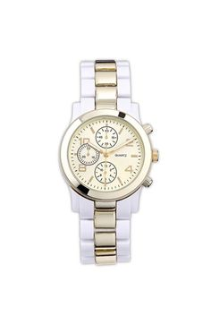 Titanium Two Tone Watch - cute for spring $22