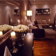 Love this living rooms deco