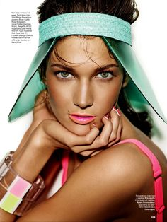 kendra spears by giampaolo sgura for allure russia june 2013 | visual optimism; fashion editorials, shows, campaigns & more!