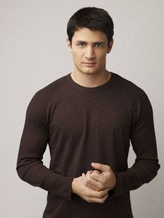 James Lafferty...all things 'One Tree Hill', tall, dark and handsome.