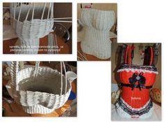 papierove pletenie - korzet