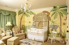 """We are thinking a jungle theme...thanks to @Cassandra Hayesaunt cassandra's baby boy """"ethan"""" bedding"""