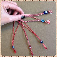 March bracelets..evil eye