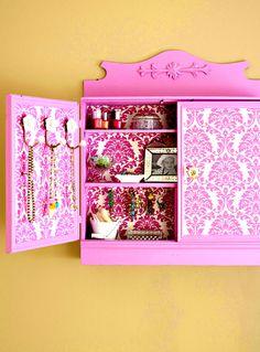 Decoupage Cabinet
