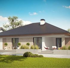 Stream How to Find a Good Builder for a House? by Custom Home Builders from desktop or your mobile device Custom Home Builders, Custom Homes, One Story Homes, New House Plans, Story House, Types Of Houses, Estate Homes, Home Fashion, Planer