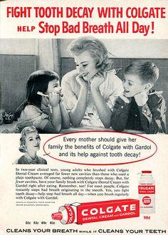 1960 Colgate Dental Cream Advertising Readers Digest June 1960