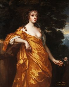 Diana Kirke, later Countess of Oxford - Peter Lely