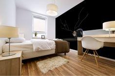 Cerebration Mural print Sogetsu Ikebana, Brown Art, Traditional Wallpaper, Stretched Canvas Prints, Black Art, Canvas Artwork, Pattern Art, Wood Print, Wall Murals