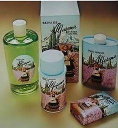 Nostalgia do cheirinho bom de Seiva de Alfazema, minha mae me deu uma caixa com esse jogo completo :-)