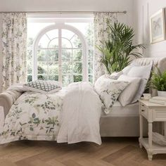 Dorma Botanical Garden Bed Linen Collection | Dunelm
