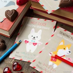 Our Favorite Printable Kid's Valentines