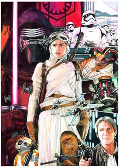 Star Wars: Episode VII - The Force Awakens by Garrie Gastonny