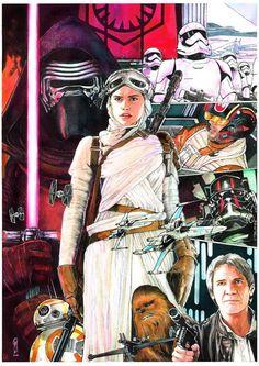 Star Wars: Episode VII - The Force Awakens by Garrie Gastonny
