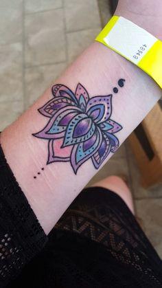 Lotus flower tattoos lotusflowertattoo2 colorful lotus flower lotus flower semicolon mightylinksfo