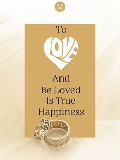 There is no greater joy in the world to love someone dearly and no greater privilege to be loved back the same way. Celebrate your unique love with one-of-a-kind designs from #MalaniJewelers. You can shop from our collection on our website. Jewelry Quotes, True Happiness, Loving Someone, Place Card Holders, Joy, Jewels, Website, Happy, Unique