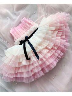 Kids Dress Wear, Kids Gown, Little Girl Dresses, Flower Girl Dresses, Baby Pageant Dresses, Pink Dress, Baby Girl Birthday Dress, First Birthday Dresses, Kids Frocks Design