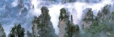 Tianzi Mountain - Avatar inspiration
