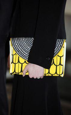 A Marimekko clutch, still on my shopping list.
