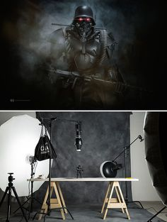 Un fotógrafo utiliza pequeños juguetes para crear estas increíbles imágenes