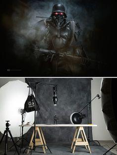 Produção fotográfica usando brinquedos, por Felix Hernandez Rodriguez…