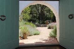 Arched Doorway | Wallace Neff - Libbey Ranch | Ojai