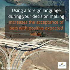 TrackTest English Test Blog: Learning a new language improves your decision mak...