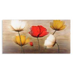 Poppy Profusion Canvas Painting | Kirklands