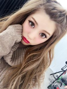 Ideas hair color asian korean beauty for 2019 Ideen Haarfarbe asiatische korea Gyaru Hair, Gyaru Makeup, Kawaii Makeup, Hair Makeup, Lolita Makeup, Kawaii Hairstyles, Trendy Hairstyles, Korean Beauty, Asian Beauty