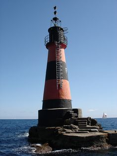 Le Phare de la Fourmigue, Golfe Juan, French Riviera