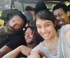 "reedusnorman: "" laurencohan: happy season 5 memories @willtylerjames @bigbaldhead """