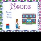 This is a 49 page activity book for teaching nouns.  There is a game with three work-mats labeled person, place and thing.  The children will sort ...