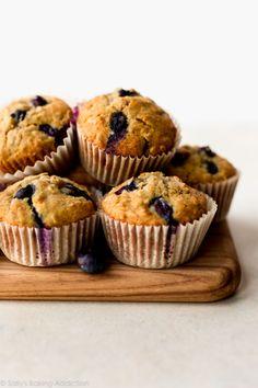 Blueberry Oatmeal Muffins - Sallys Baking Addiction