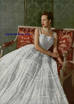 Couture Allure Vintage Fashion: Christian Dior, 1948