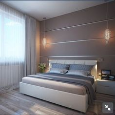 luxury bedroom design ideas 14 ~ my.me luxury bedroom design ideas 14 ~ . Luxury Bedroom Design, Master Bedroom Interior, Bedroom Bed Design, Home Decor Bedroom, Home Interior Design, Modern Interior, Minimalist Bedroom, Luxurious Bedrooms, Living Room Designs