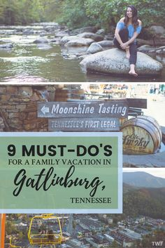 9 Must-Do's for a Family Vacation in Gatlinburg, Tennessee Gatlinburg, Familienurlaub, 9 Muss Family Vacation Spots, Family Vacation Destinations, Best Vacations, Family Travel, Vacation Ideas, Family Vacations, Travel Destinations, Cruise Vacation, Vacation Wishes