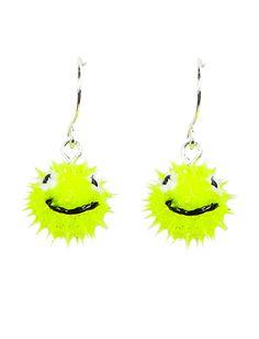 Spikey Smiley Face Earrings | Earrings | Jewelry | Shop Justice
