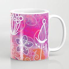 Watercolor Flowers 2 Mug
