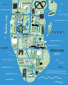 NYC MAP | (Jordan Sondler)