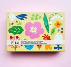 """132 Likes, 9 Comments - レーナ・キソネン (@leenakisonen) on Instagram: """"Spring cookie packaging for Fika ☀ Designing this in the darkness of November was a challenge…"""""""