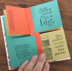 Diy Mini Album, Mini Albums Scrap, Mini Album Tutorial, Paper Hand Craft, Paper Crafting, Book Letters, Mini Books, Flip Books, Book Making