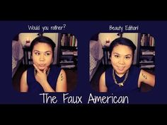 would you rather? beauty edition | FauxAmerican - YouTube