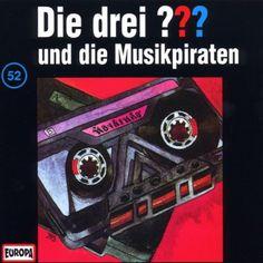 Die drei Fragezeichen und die Musikpiraten Growing Up, Comic Books, Cards, Life, Pirates, Musik, Vinyl Records, Autumn