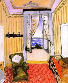 My Room at the Beau-Rivage / Henri Matisse - 1917-1918