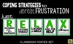 Teach your students how to beat frustration and learn to RELAX.
