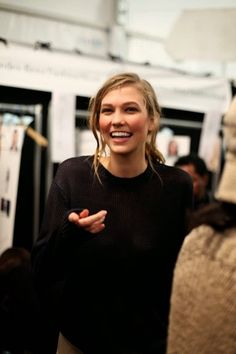 Karlie Kloss #beauty #hair #model