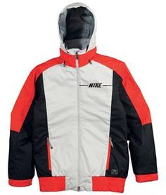 On Sale Nike Century Snowboard Jacket Wolf Grey/Gamma Orange/Black 2014.